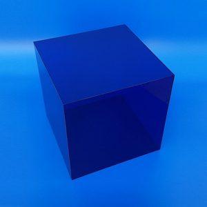 Cubi in Plexiglass